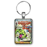 The Amazing Spider-man 119 Cover Key Ring Or Necklace The Hulk Comic Book
