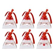 20x30 Pcs Gift Boxes Decorative Candy Boxes Christmas Cookies Candy Bags Santa