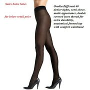 12 Pack Oroblu Different 40 Den Tights Comfort Anatomical Top Never Felt Before