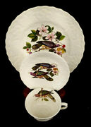 Meakin Birds Of America Band-tailed Pigeon Cup And Saucer And Cake Plate Mabb