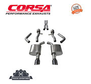 Corsa Performance 14995blk Sport Cat-back Exhaust System Fits 15-19 Charger
