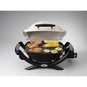 Weber Q 1000 1-burner Portable Propane Gas Barbeque Bbq Grill Tailgating Camping