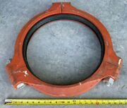 16 Grinnell 707 Flexible Coupling 4 Rigid Fire Sprinkler Pipe Ductile Iron/epdm