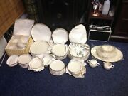 Olympia Pl By Lenox X-303p 70 Piece Set Vintage Great Condition Must See