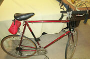 Mens Bike Original 1982 Raleigh Super Record Japan Mint Condt 10 Hours Of Use