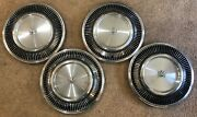 Set Of Four 1978 Mercury Cougar Grand Marquis 88-fin Type 15 Hubcaps