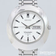 Seiko Presmatic 5146-7000 Original Silver Dial Automatic Vintage Watch 1969and039s