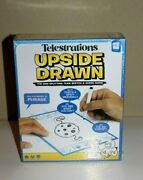 Telestrations Upside Drawn - The Side-splitting Team Sketch And Guess Game [new ]