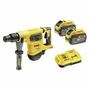 Dewalt 54v 9.0ah 3 Mode Xr Flexvolt Sds-max Rotary Hammer Drill Kit
