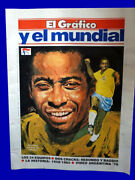 Soccer World Cups 1958/1962 Special Magazine Pele