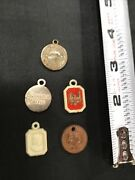 Ca 1950-1960andrsquos Us Eagle Gingerbread Castle Coin Gumball Charm Prize Toy Lot