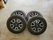 18'' Toyota Tundra Factory Oem Alloy Wheels With Michelin Ltx At2