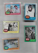 1977 Complete Topps Star Wars Trading Cards Series 1 To 5 Sets 330 Cards Ex/nm