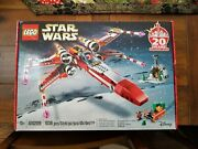 Light Creases New, Sealed Lego Star Wars 4002019 Christmas X-wing