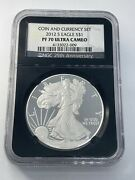 2012-s American Silver Eagle Proof - Ngc Pf70 Ucam Coin And Currency Set