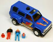 M.a.s.k. Laser Command Ratfang With Figures And Masks 1987 Kenner