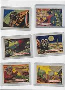 1957 Topps Target Moon 66 Cards Out Of 88 Cards