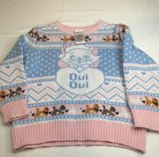 Ugly Christmas Sweater 3t Aristocats Marie Cat Oui Oui Boxlunch Kids Disney