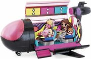 Lol Surprise Omg Remix 4-in-1 Plane Playset – Plane, Car, Recording Studio And