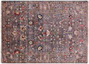 5and039 7 X 7and039 9 Hand Knotted Traditional Wool Rug - Q7669