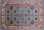 6and039 1 X 8and039 10 Handmade Traditional Wool Rug - Q7515