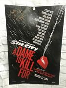 Rosario Dawson Signed Sin City 40x27 Poster Autographed Dame To Kill For Sfd