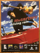 Paul Mccartney Concert Poster And Denny Seiwell Signed Photo