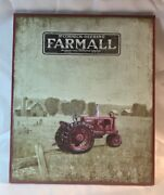 Farmall Mccormick - Deering Wooden Wall Sign 14 Tall By 11 3/4 Wide 049-13983