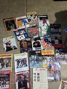 Lot 23 Nhl Junior College And Ncaa Hockey Magazine Lot 60andrsquos-80andrsquos
