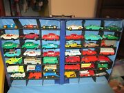 Matchbox Case With With Over 40 Cars