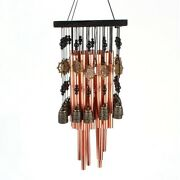 5xoutdoor Indoor Metal Tube Wind Chime With Copper Bell Large Windchimes For