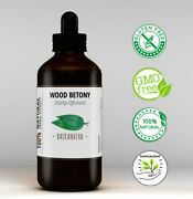 Wood Betony - Herbal Tincture - Stachys Officinalis - Natural Extract Drops