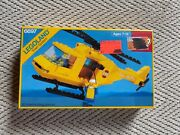 Vintage 1985 Lego Legoland Town System Rescue-1 Helicopter 6697 Unopened Box