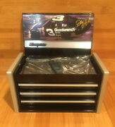 Rare Mini Snap-on Racing Limited Dale Earnhardt Nascar Tool Box Collectible New
