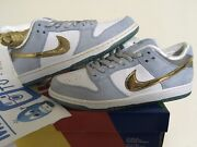 2020 Nike Sb Dunk Low Pro Qs Sean Cliver Holiday Special Dc9936-100 Size 11 Us