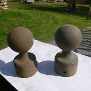 Antique Hitching Posts