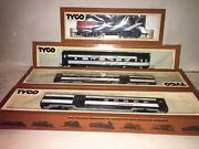 Tyco Canadian National 3 Car Passenger Car F 7 Diesel Set Tested Lubed Runs Obandrsquos