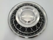 Ford Mustang 1965 65 Oem Original Wire Spoke Hubcap Wheelcover C40z1130h