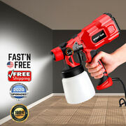 Handheld Electric Spray Gun Home Paint Sprayer With 800ml Container