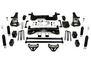 Pro Comp K1084b 6'' Lift Knuckle Kit W/es Shocks For 00-12 Chevy Avalanche 2500