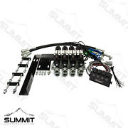 Electric Rear Remote Valve Kit For Compact Tractors Four Spool