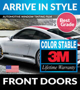 Precut Front Doors Window Tint W/ 3m Color Stable Auto Glass Tinting Film 20-21