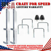 28 Heavy Duty Suspension Traction Bars Chrome Plated Steel 20470 Leaf Spring