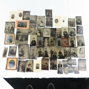 57 Antique Photographs Tintypes And Daguerreotypes Brothers Families Interesting