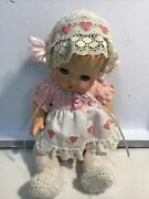 """Vintage/antique 1932 Composition Doll 9"""" Effanbee Patsy Babyette"""