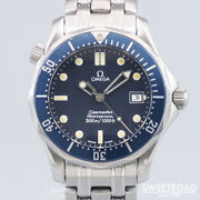 Omega Seamaster Professional 300 196.1502 Original Dial Vintage Watch 1993and039s