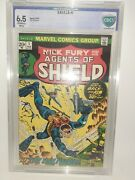 Marvel Nick Fury And His Agents Of Shield 1 Cbcs 6.5 1973 Free Shipping
