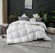 400tc Hutterite White Goose Down Duvet Winter King Made In Canada