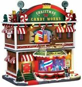 Lemax Village Collection Christmas Candy Works With Lights And Sounds 65164