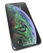 Apple Iphone Xs Max - 256gb - Space Gray Unlocked No Face Id And Front Speaker